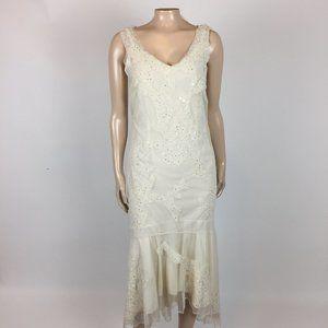 NEW Newport News Women's Dress 4 Small Floral C28
